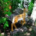 Садово-парковая фигура олень