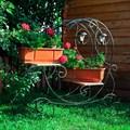 Кованая цветочница - фото 37009