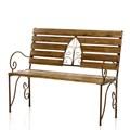 Кованая скамейка для сада - фото 37047