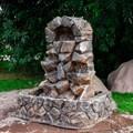 Камень фонтан для сада