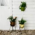 Кованые цветочницы для сада