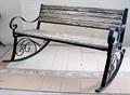 Кресло качалка садовая