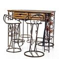 Кованые барные стулья