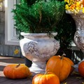 Вазон для цветов под патину - фото 39749