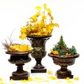 Вазон для цветов античный - фото 39781