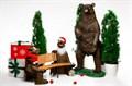 Садовая фигура Медведь большой - фото 39888