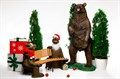Скамейка Медведи Балу - фото 39904