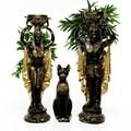 Статуэтка египетская кошка - фото 40006