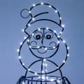 Дед мороз - светящаяся фигура для сада