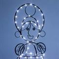 Кованая светящаяся фигура
