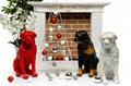 Фигура собака ротвейлер - фото 40487