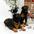 Фигуры собак из полистоуна