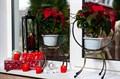 Подставка для цветов на подоконник кованая