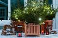 Деревянные кадки для растений