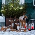 Новогодние фигуры оленей