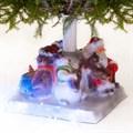 Елочная подставка Дед мороз в кресле - фото 41979