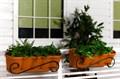 Балконная подставка для цветов