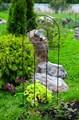 Шпалера Лягушка с фонарем - фото 46661