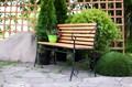 Скамейка для дачи