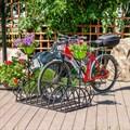 Кованая подставка для велосипедов