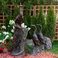 Бронзовая скульптура Павлин