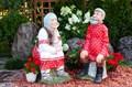 Садовая фигура Дед и бабка