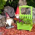 Подставка для цветов деревянная - фото 48995