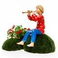 Садовая фигура мальчик