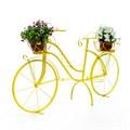 Кованый велосипед для цветов - фото 56030