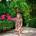 Египтянка подставка под цветок - фото 56786