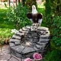 Фонтан садовый Орел U08695 - фото 57213