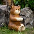 Скамейка садовая Медвежата - фото 57912