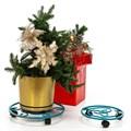 Подставка под цветы на колесиках - фото 59539