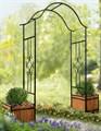 Кованая арка для сада - фото 61517