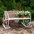 Садовая кресло качалка - фото 61717
