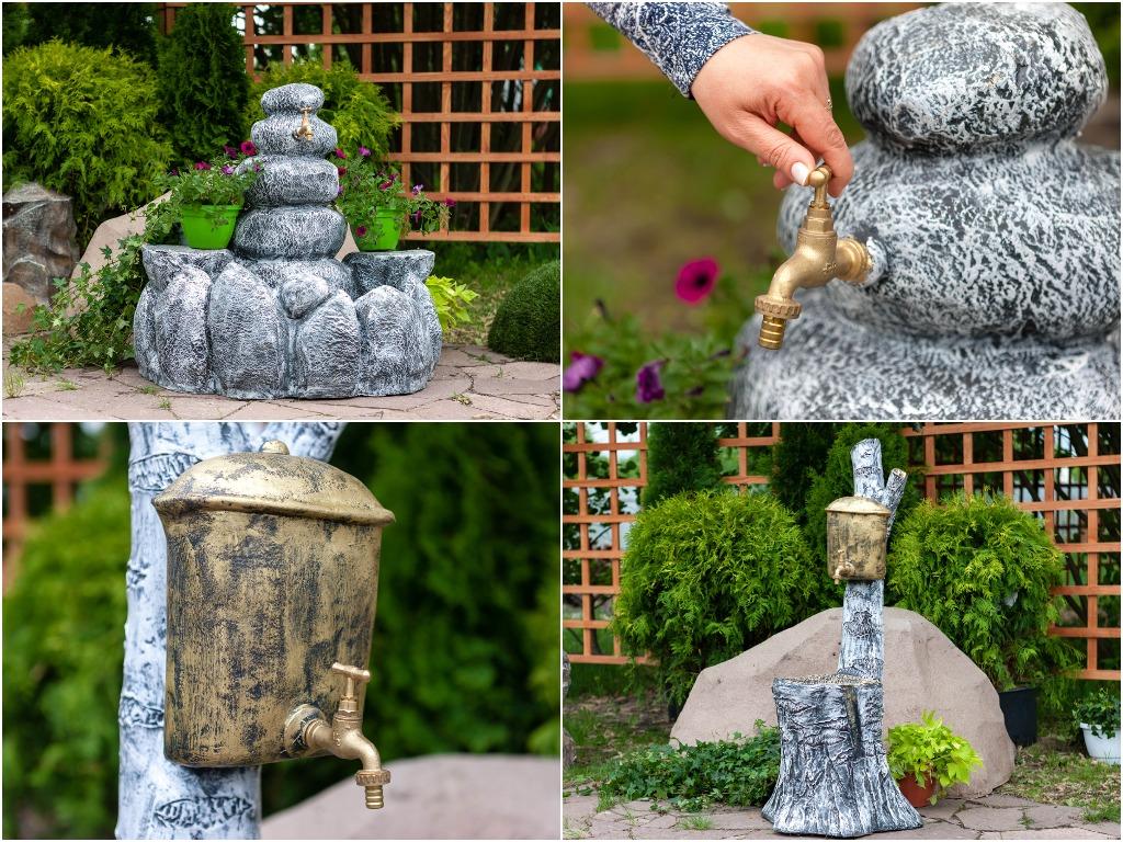 Декоративные умывальники для сада и дачи