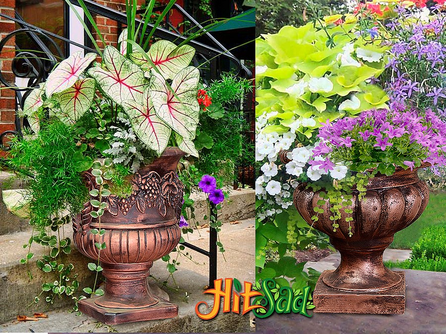 Как сделать кашпо для сада своими руками фото фото 752