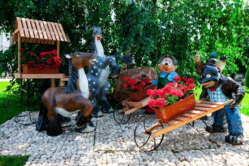 Украшение для сада, оригинальный садовый декор